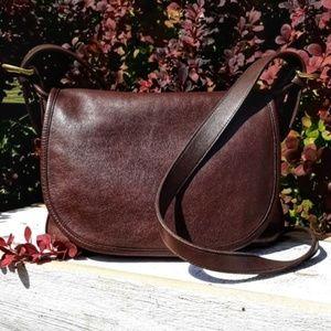 Vintage Coach Small Mailbag Crossbody Brown